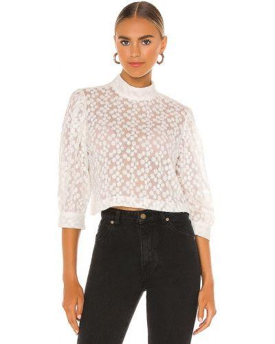 Кружевная блузка - белая Rolla's