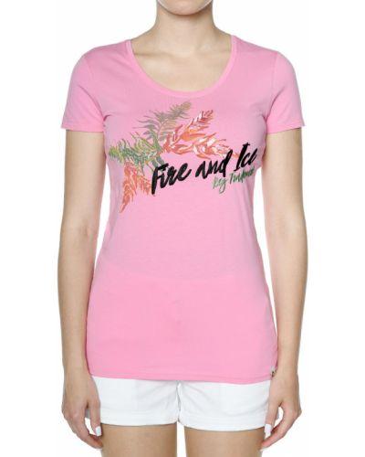 Розовая футбольная футболка Bogner