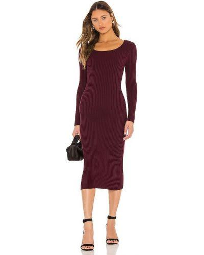 Хлопковое платье - бордовое 525