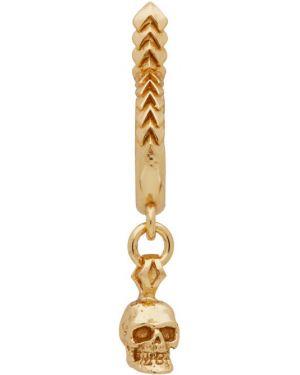 Kolczyki złoto z logo Emanuele Bicocchi