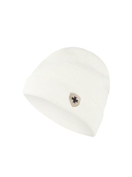 Biała czapka prążkowana Wellensteyn