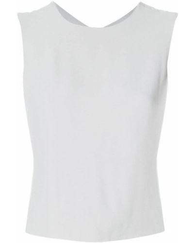 7dd733cfd34 Блузка без рукавов винтажная с открытой спиной Giorgio Armani Vintage
