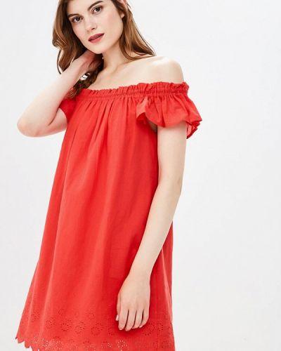 Платье прямое осеннее Yumi