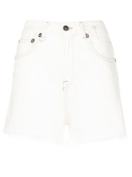 Джинсовые шорты с завышенной талией с карманами R13