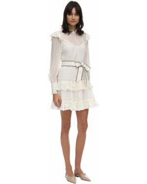 Платье мини макси с поясом Zimmermann