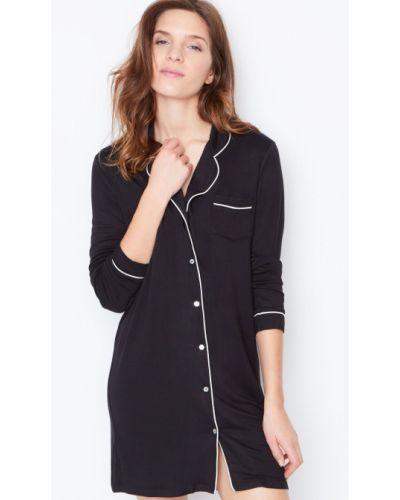 Черная рубашка Etam
