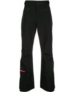 Расклешенные черные укороченные брюки с поясом пэчворк Opening Ceremony