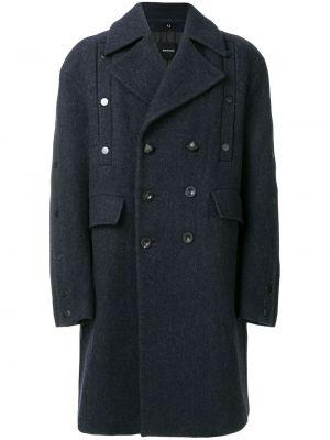 Niebieski płaszcz wełniany Bmuet(te)