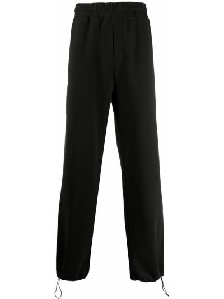 Bawełna czarny bawełna dres bezpłatne cięcie Mcq Swallow