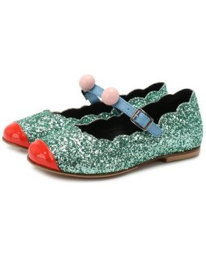 Кожаные туфли с подкладкой Marni