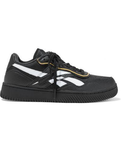 Кожаные кроссовки - черные Reebok X Victoria Beckham