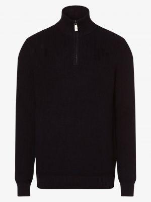 Czerwony sweter elegancki Andrew James Sailing