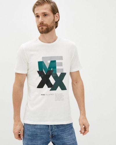 Белая футболка с короткими рукавами Mexx