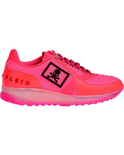 Розовые кроссовки Philipp Plein
