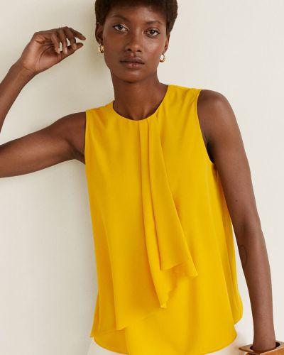 Блузка прямая на молнии Mango