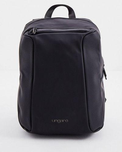 Черный зимний рюкзак Ungaro