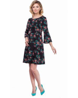 Повседневное платье платье-сарафан с вырезом Zip-art