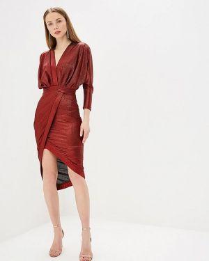 Вечернее платье красный Mirasezar