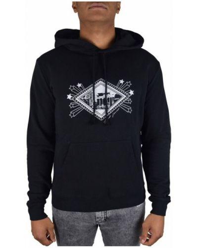 Czarna bluza z kapturem Saint Laurent