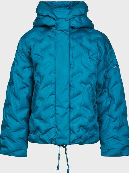 Синяя куртка на молнии с подкладкой Emporio Armani