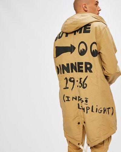 Куртка с капюшоном легкая хлопковая Scotch & Soda