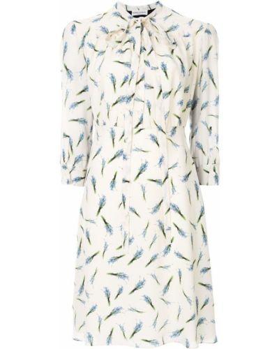 Платье мини - белое Sonia Rykiel