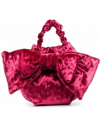 Różowa torebka bawełniana Simonetta