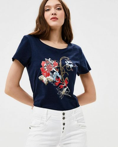 Синяя футболка Zarina