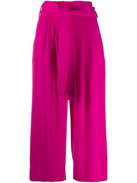 Расклешенные брюки с поясом с завязками P.a.r.o.s.h.