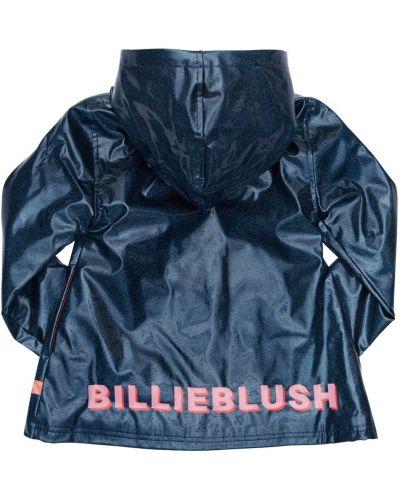 Флисовый плащ с капюшоном на молнии Billieblush