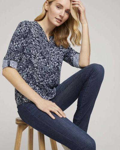 Блузка с V-образным вырезом Tom Tailor