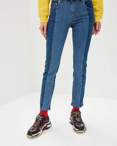 Зауженные джинсы - синие Zoe Karssen