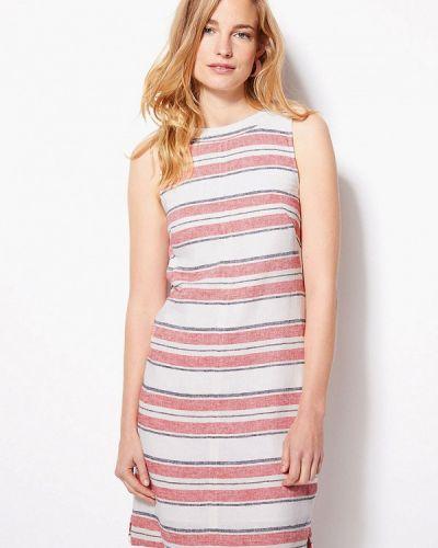 Повседневное платье весеннее красный Marks & Spencer