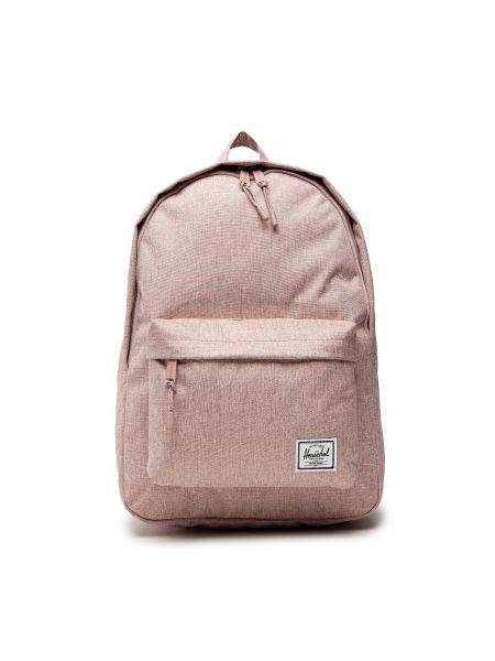Różowy klasyczny plecak Herschel