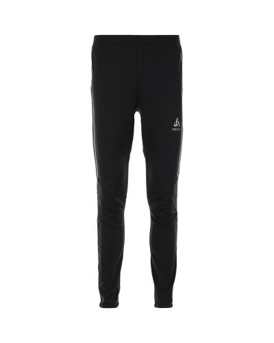 Спортивные брюки утепленные черные Odlo