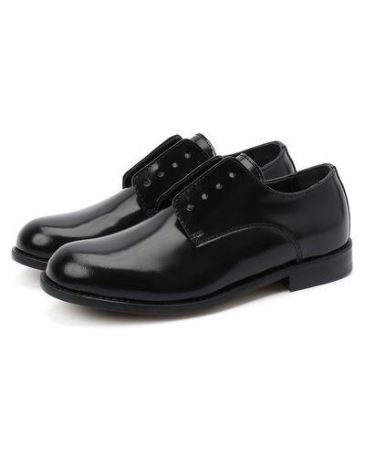 Без шнуровки кожаные туфли Dsquared2
