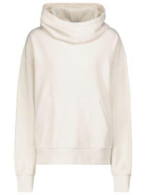 Хлопковый свитшот - белый Velvet