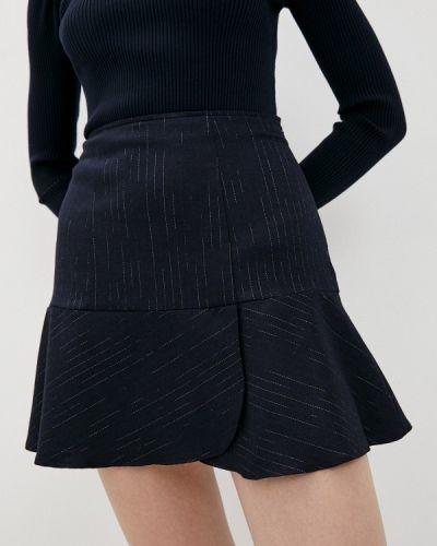 Синяя зимняя юбка Pennyblack