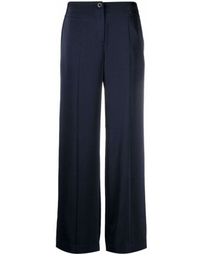 С завышенной талией синие брюки свободного кроя Armani Exchange