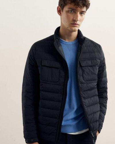 Серая зимняя куртка Massimo Dutti