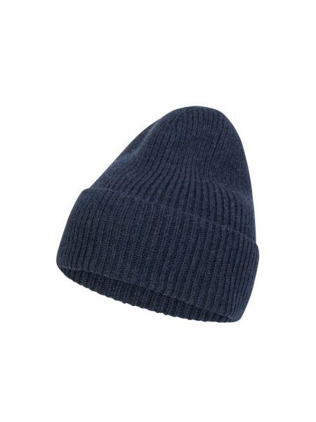 Niebieska czapka wełniana Becksöndergaard