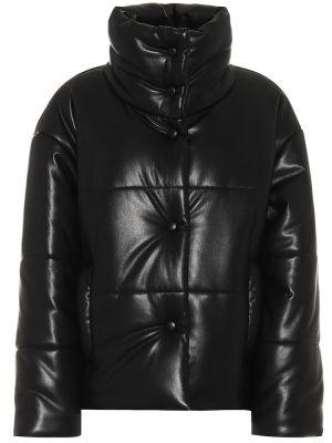 Кожаная куртка Nanushka