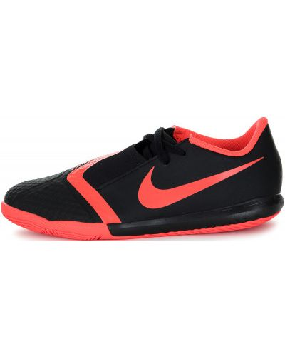 Бутсы на шнуровке кожаные Nike