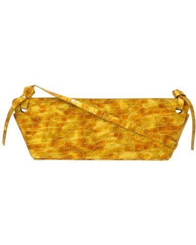 Żółta torebka skórzana Rejina Pyo
