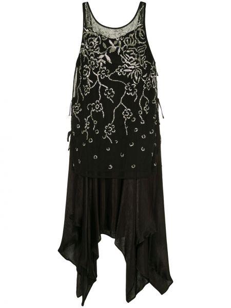 Платье гэтсби черное Muller Of Yoshiokubo