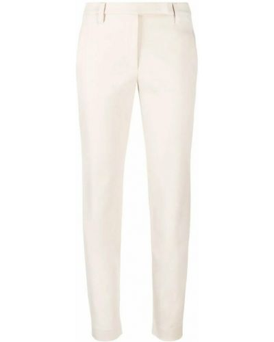 Białe spodnie Brunello Cucinelli