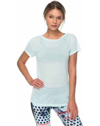 Синяя футболка легкая Roxy