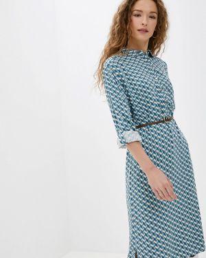 Платье платье-рубашка осеннее Vilatte