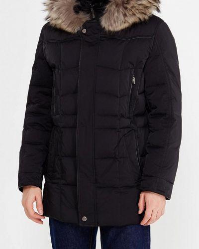 Зимняя куртка черная осенняя Riggi