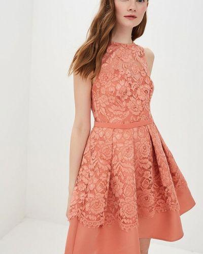 Вечернее платье весеннее красный Little Mistress
